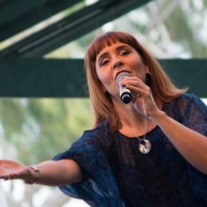 web Zerafina speaking at Deakin Edge 2015
