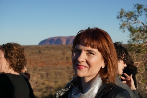 Meeting so many inspiring people at the Movers and Breakers conference at Uluru