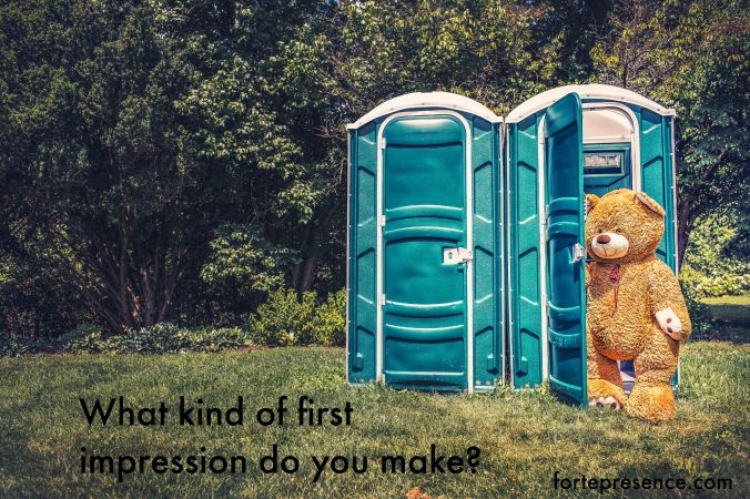 What kind of first impression do you make? Can you hack it?
